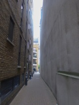 Alley from the Thames
