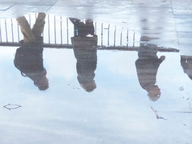 Southbank puddle